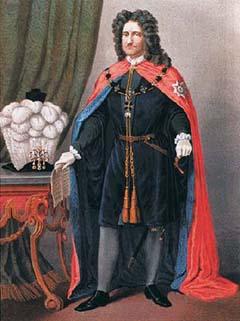 """Прусский король Фридрих I - учредитель ордена """"Чёрного орла""""Fr"""