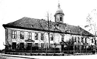 """Королевский сиротский приют (ныне предприятие """"Разнобыт""""), 1900 год"""