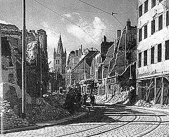 Французская улица, 1944 год