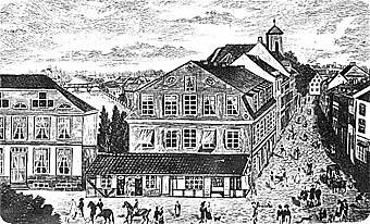 Французская улица, 1850 год