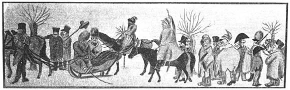 Возвращение армии Наполеона из России в Кёнигсберг, 1812 год