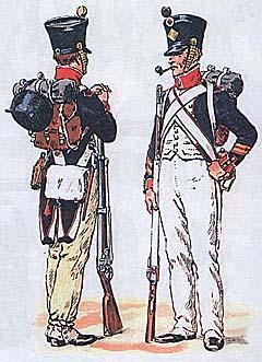 Солдаты армии Наполеона