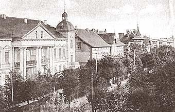 Луизеналлее (улица Комсомольская),1925 год