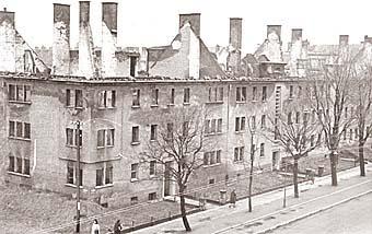 Улица Офицерская в 1948 году