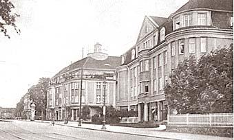 Хуфенская аллея (проспект Мира),1935 год