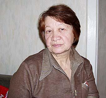 В. Пупынина, мама Олеси