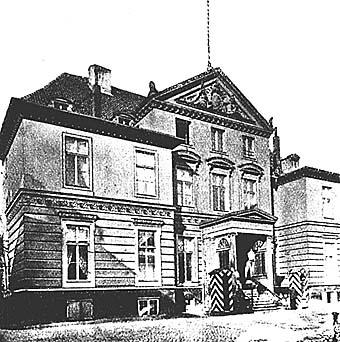 Дворец Кейзерлингов на Фордерроссгартен, 1890 год