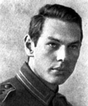 Рихард Зорге – солдат Германской армии. 1916 год