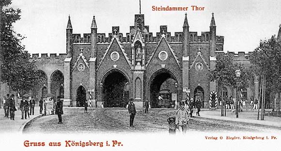 Штайндаммские ворота, 1906 год