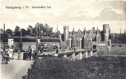Штайндаммские ворота, 1902 год