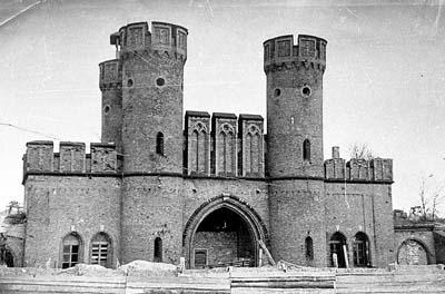 Фридрихсбургские ворота, 1972 год