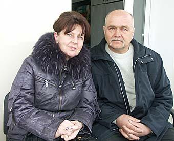 Супруги Татьяна и Александр Войчук