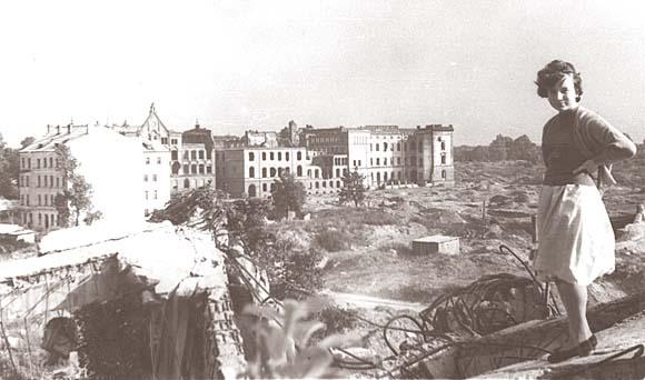 Калининград, 1965 год. Бывшее здание правительства Восточной Пруссии. Нынешняя ул. Соммера