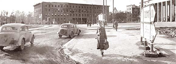 Площадь Победы, 1946 год