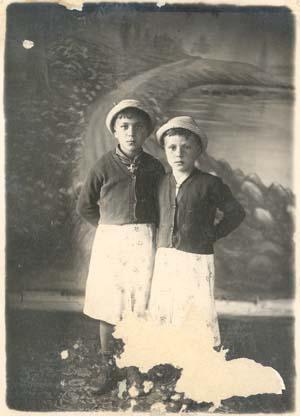 Раиса и Варвара Беляевы, 1941 год