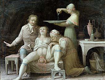 Роды. 1800 год