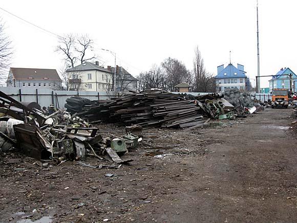"""Пропавшие рельсы были обнаружены на площадке фирмы """"Янмарин"""""""