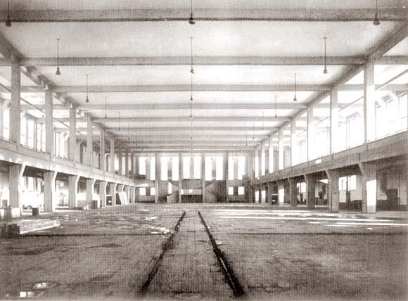 Зал Дома Техники - самый большой в Восточной Пруссии