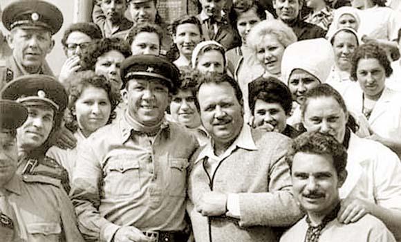 Юрий Никулин в Калининграде, 1975 год