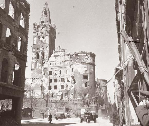 Кёнигсберг. 1945 год