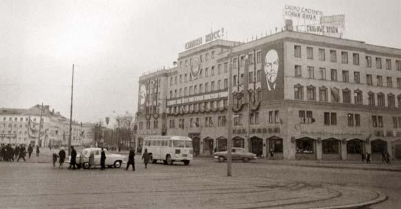 Калининград, площадь Победы, 1967 год