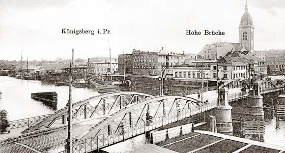 Кёнигсберг, Высокий мост