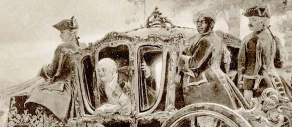 Фридрих Вильгельм I мечтал сделать из сына настоящего солдата