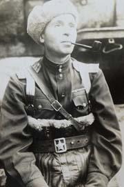 Полковник Андрей Соммер перед штурмом Кёнигсберга. Весна 1945 года