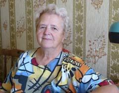 Людмила Андреевна в сентябре 2015 года