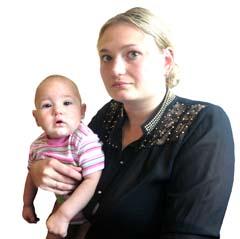 26-летняя Дарья Дудина потеряла любимого мужа, а её дети - отца