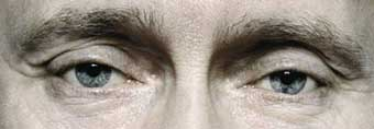 глаза Путина