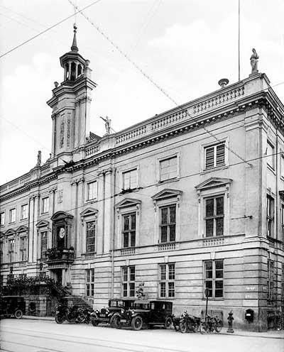 Ратуша Кнайпхофа 200 лет была ратушей Кёнигсберга