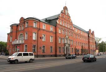 Управление ФСБ на улице Генделя в Калининграде