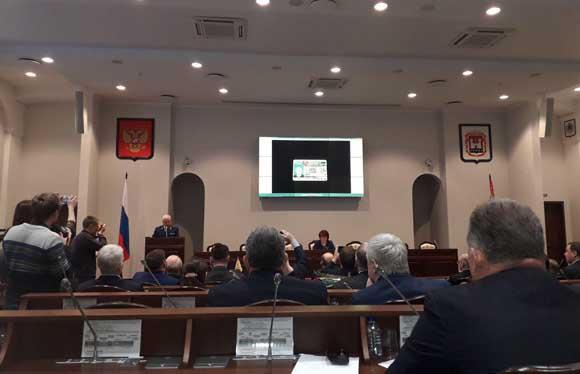 """То самое позорное заседание областной Думы, состоявшееся 23 ноября 2017 года, когда так называемые """"избранники народа"""" без суда и следствия изгнали из своих рядов Игоря Рудникова"""