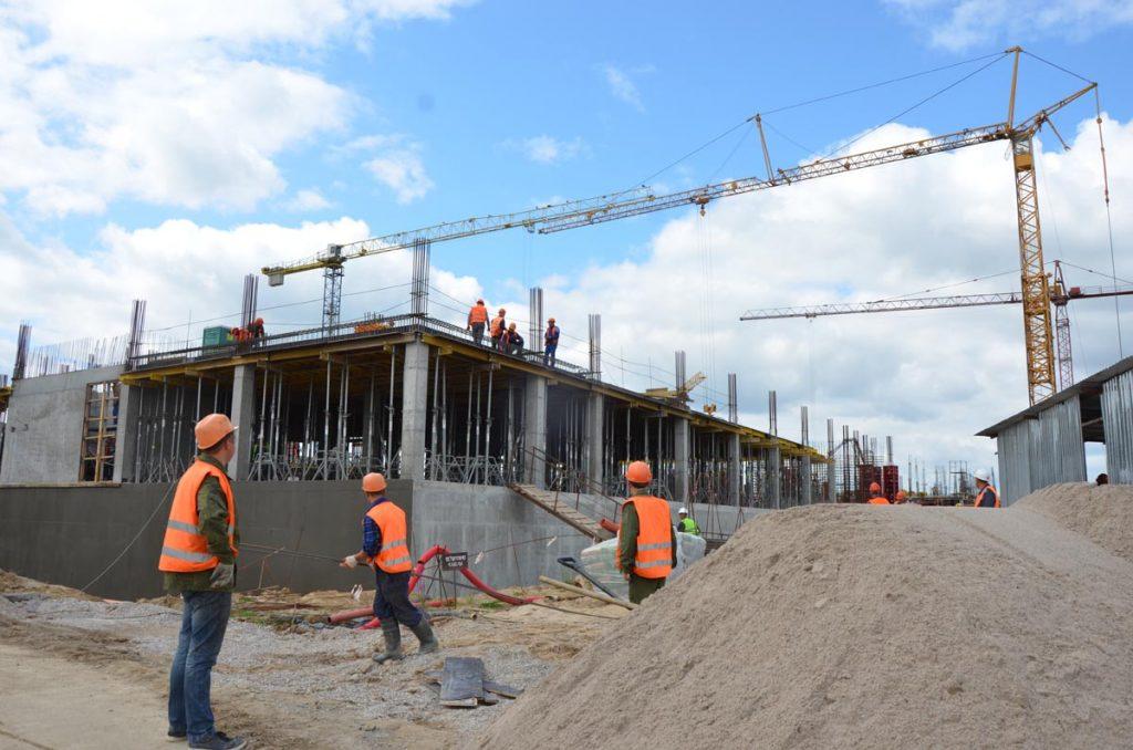 строительство онкоцентра в Родниках