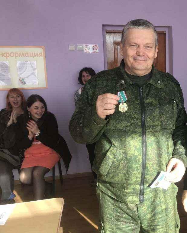 Военрук Виктор Деревянченко