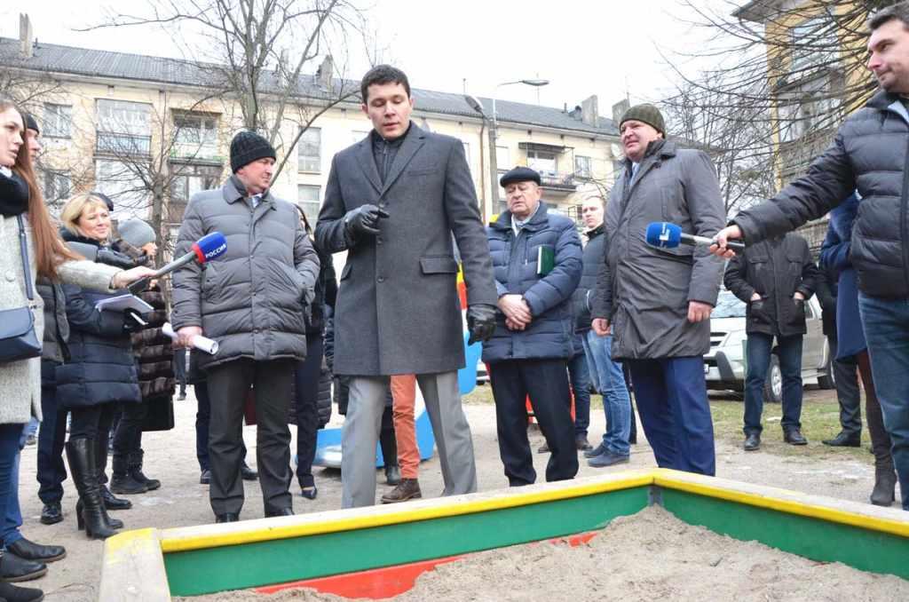 Антон Алиханов песочница