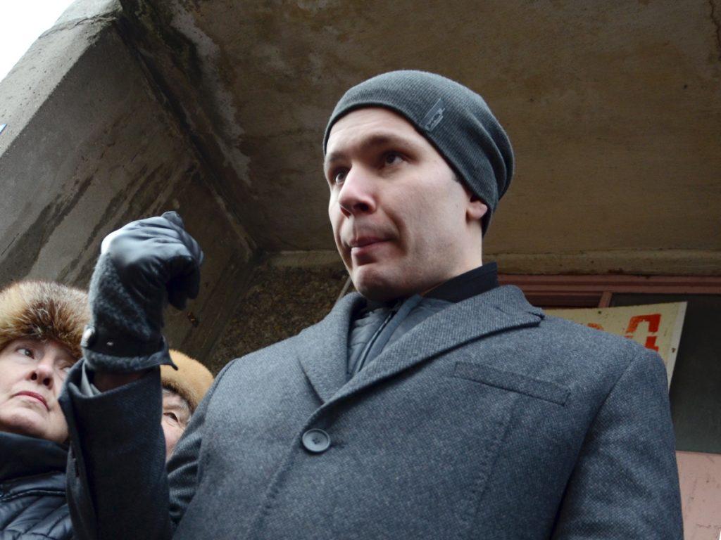 Антон Алиханов кулак