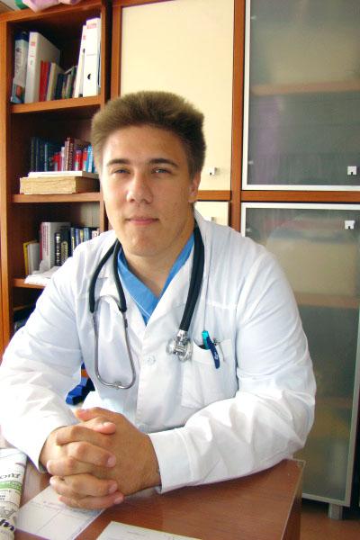 Врач-кардиолог Денис Язиков