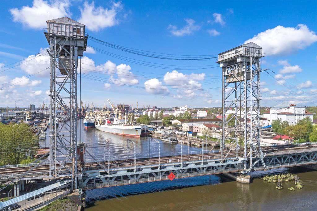 двухъярусный мост Калининград