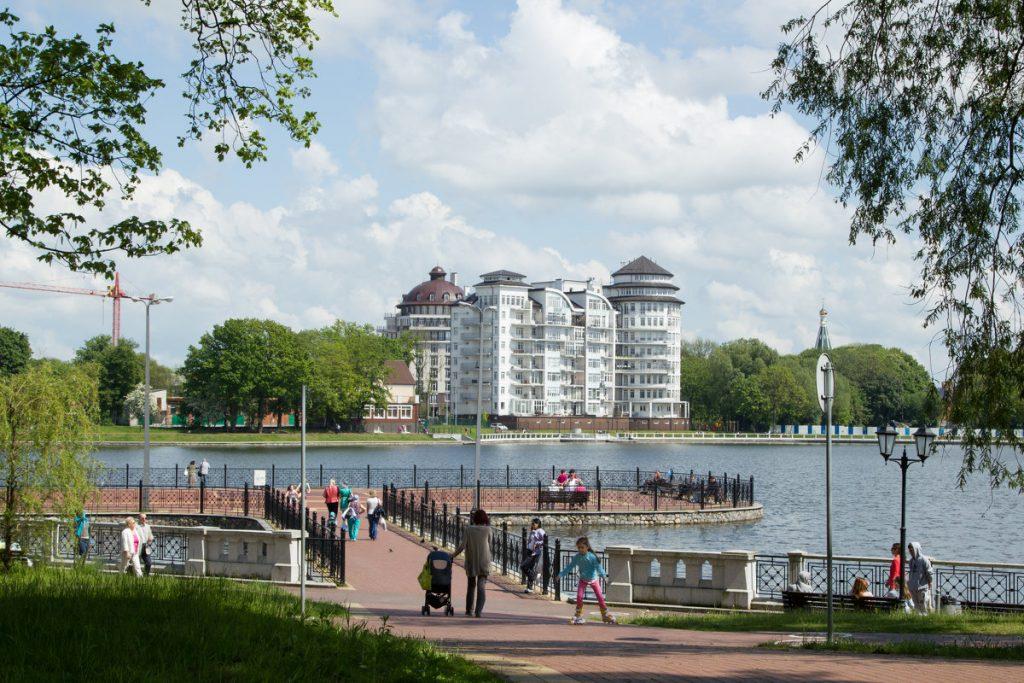 верхнее озеро Калининград цирк