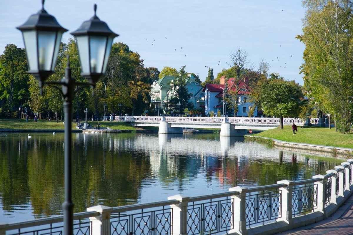 Калининград верхнее озеро фото