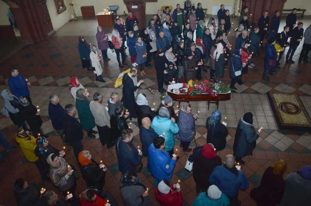 похороны Ивана Вшивкова в Черняховске