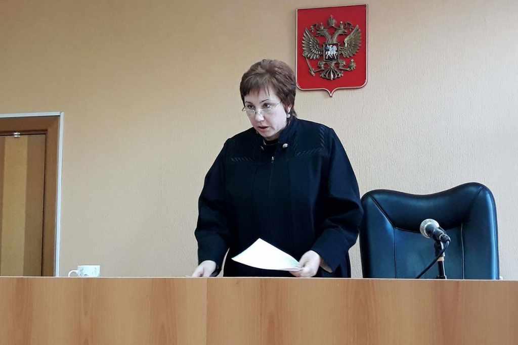 судья Елена Дмитриковская