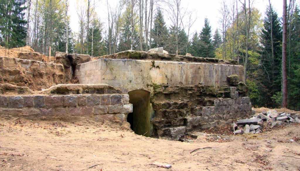 руины дачи Геринга
