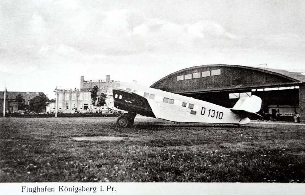 аэродром Девау Кёнигсберг