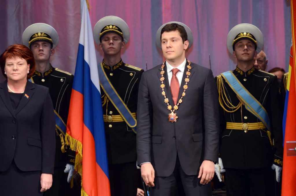 Алиханов присяга
