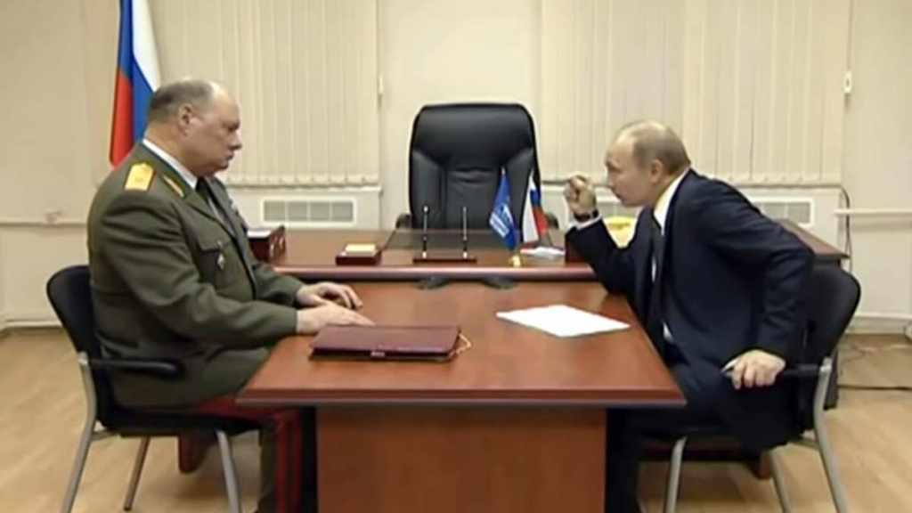 Борис Косенков и Владимир Путин