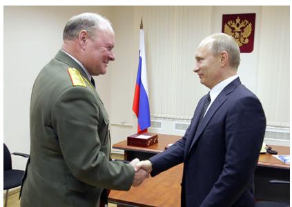 Косенков и Путин