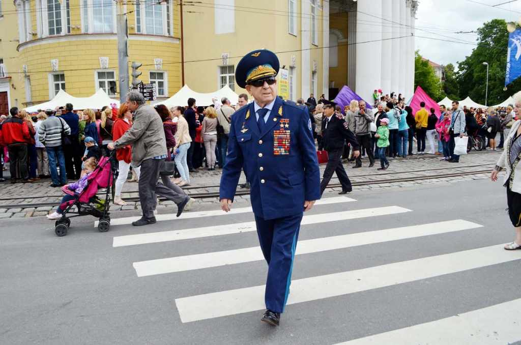Алексей Леонов День города Калининград